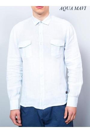 Cazador Erkek Oxford Keten Uzun Kol Gömlek Cdr 2615