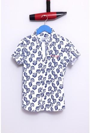 U.S. Polo Assn. Erkek Çocuk Chandle Gömlek Beyaz
