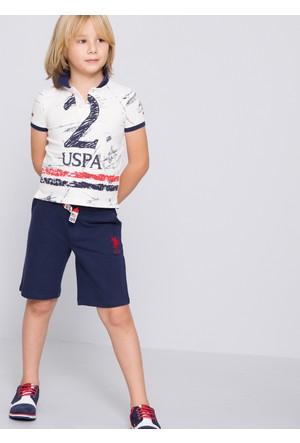 U.S. Polo Assn. Erkek Çocuk Gunderiy7 Şort Lacivert