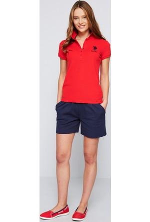 U.S. Polo Assn. Kadın Mts02İy07-011 T-Shirt Kırmızı
