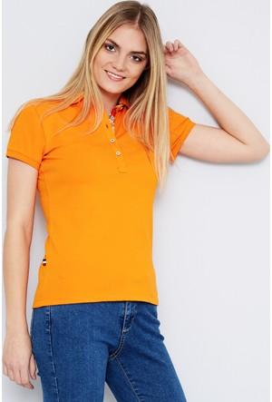 U.S. Polo Assn. Kadın Rp01İy07-011 T-Shirt Turuncu