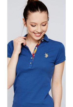 U.S. Polo Assn. Kadın Rp01İy07-011 T-Shirt Saks