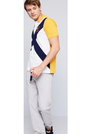 U.S. Polo Assn. Erkek Forrest T-Shirt Sarı