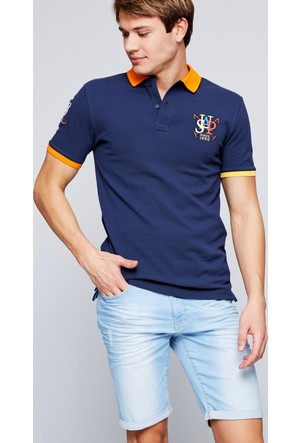 U.S. Polo Assn. Erkek Salem Polo T-Shirt Lacivert
