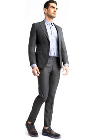 Kiğılı Floransa Kalıp Slim Fit Desenli Takım Elbise