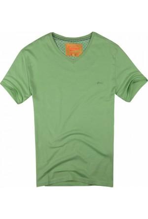 Exuma 361299 Man T-Shirt Açık Yeşil