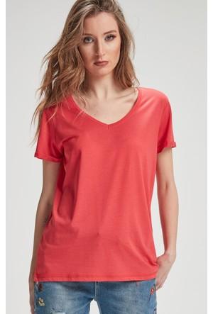 Vena Boyfriend T-Shirt Mercan 1402703