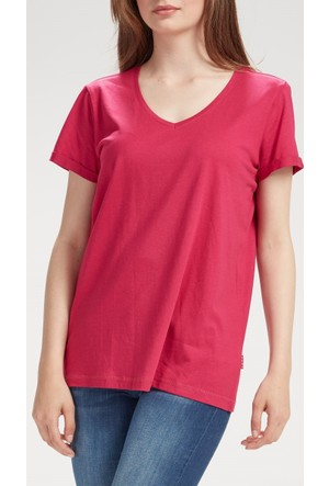 Vena Boyfriend T-Shirt Fuşya 1402699