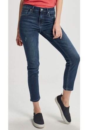 Vena Carey Dark Denim Pantolon Mavi 1402507