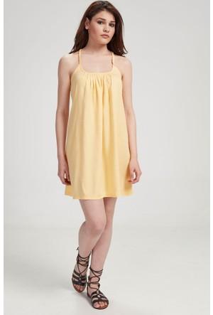 Vena Helen Elbise Sarı 1401962