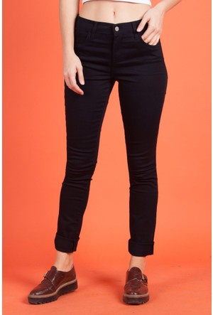 Vena Laura Dar Paça Siyah Pantolon 1402308