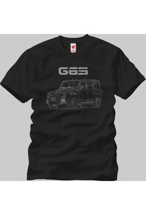 Crazy Mercedes G65 Erkek T-Shirt