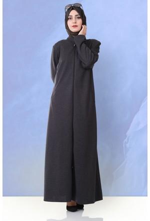 Beria Mevsimlik Basic Ferace 6111 Siyah