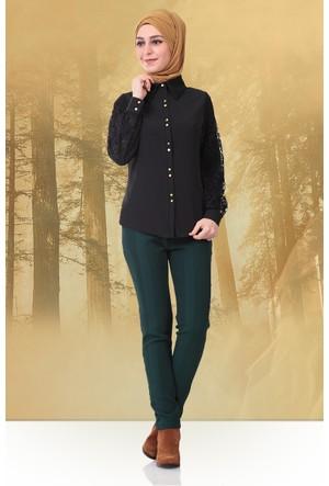 Mustafa Dikmen Mevsimlik Klasik Pantolon 179007 Yeşil