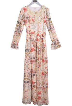 Stillife Kadın 8746 Dantel Detaylı Elbise 17-1
