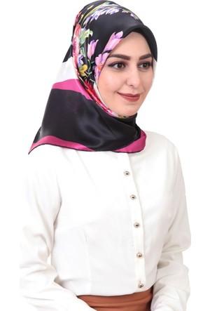 Madame Carina Sura Saf İpek Eşarp 3015D-37