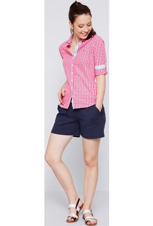 U.S. Polo Assn. Kadın Burbank Gömlek Pembe