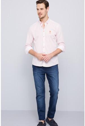 U.S. Polo Assn. Erkek Orlando Gömlek Turuncu