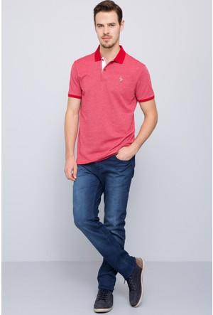 U.S. Polo Assn. Erkek Aldora T-Shirt Kırmızı