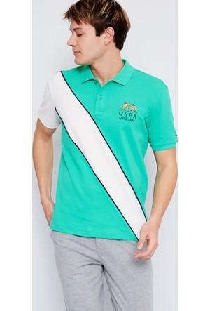 U.S. Polo Assn. Erkek Felix T-Shirt Yeşil