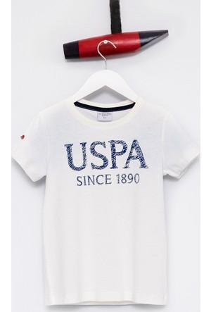 U.S. Polo Assn. Erkek Çocuk Geart T-Shirt Beyaz