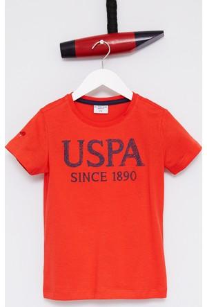 U.S. Polo Assn. Erkek Çocuk Geart T-Shirt Kırmızı