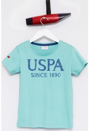 U.S. Polo Assn. Erkek Çocuk Geart T-Shirt Mint