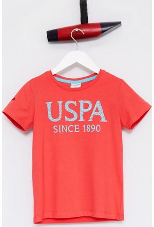 U.S. Polo Assn. Erkek Çocuk Geart T-Shirt Pembe