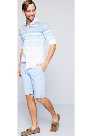 U.S. Polo Assn. Erkek Marco7Y-Ing Bermuda Açık Mavi