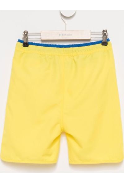 DeFacto Erkek Çocuk Basic Yüzme Şortu Sarı
