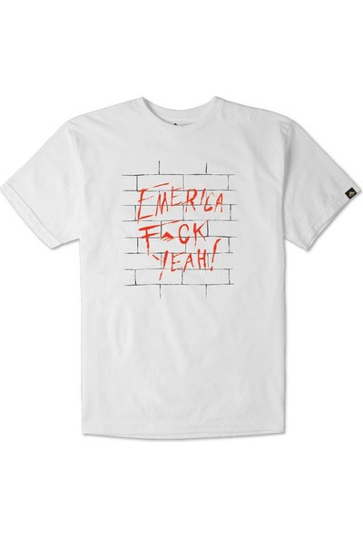 Emerica Fuck Yeah Wall White Erkek T-Shirt