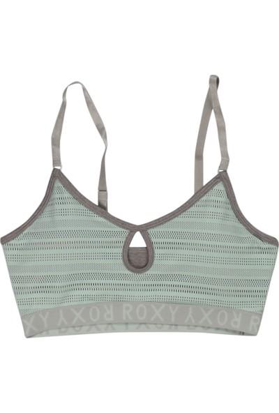 Roxy Spin Bra J Kttp Pmk0 Su Yeşili Kadın Sporcu Sütyeni