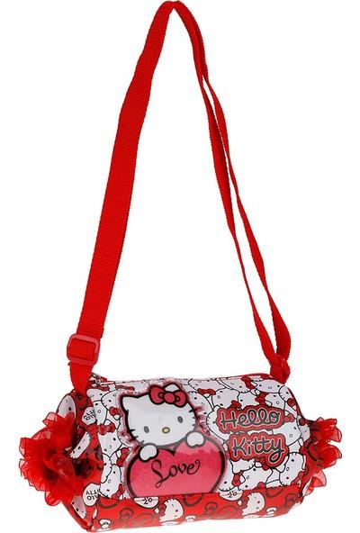Hello Kitty 86625 Kırmızı Unisex Çocuk Omuz Çantası