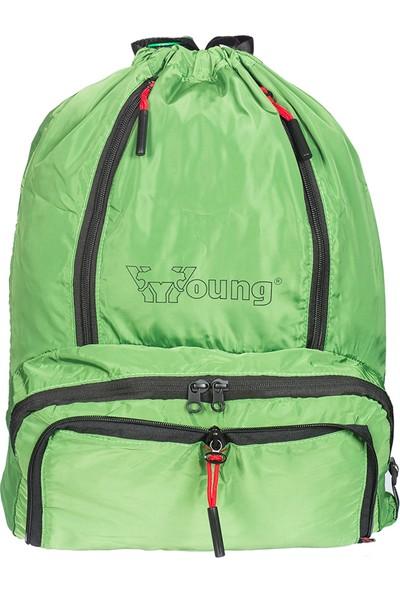 Young Erkek İpli Sırt Çantası Yg31047 Yeşil