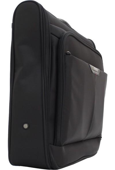 Mçs Mkte1502-S Mçs Line Siyah Takım Elbise Çantası