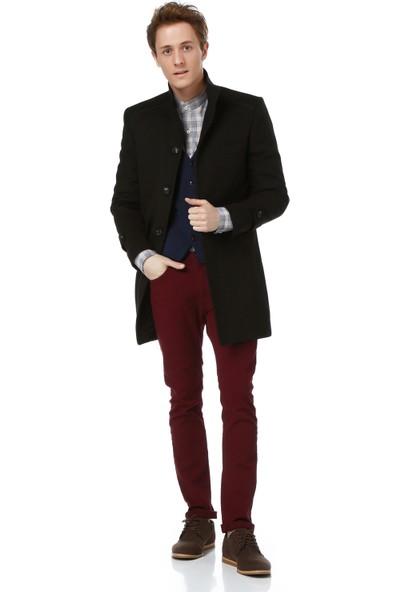 Dewberry Plt8315 Erkek Palto Kahverengi