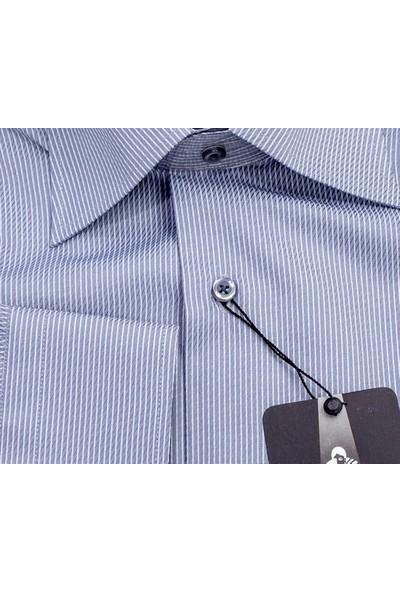 Sude Triko Erkek Klasik Uzun Kollu Gömlek 31045-1