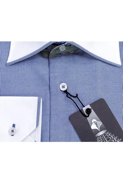 Sude Triko Erkek Klasik Uzun Kollu Gömlek 31360