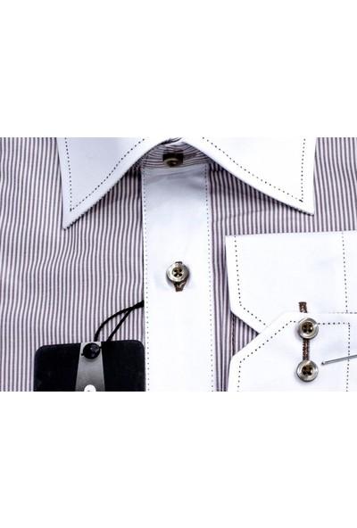 Sude Triko Erkek Klasik Uzun Kollu Gömlek 31078