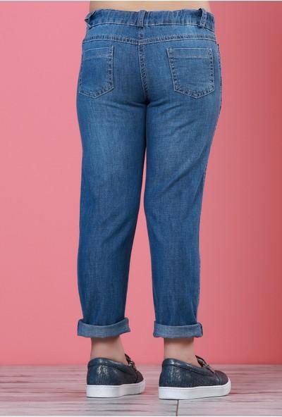 Zeyland Kız Çocuk Mavi Pantolon - 71Z4ELO01