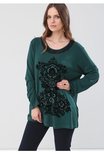 Lir Kadın Bluz Yeşil 2117