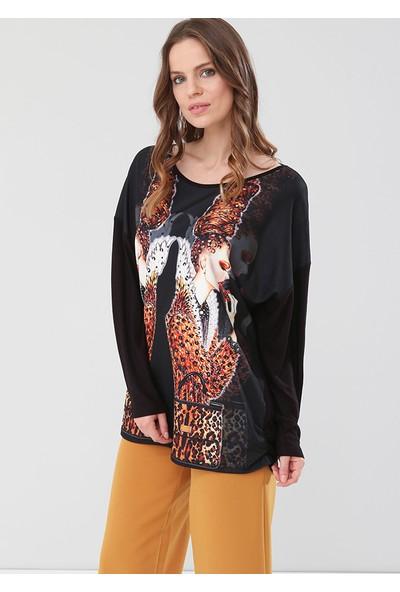 Lir Kadın Bluz Siyah 2136