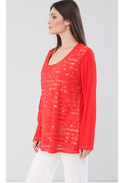 Lir Kadın Bluz Kırmızı 2152