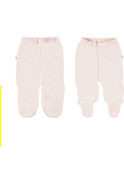 Doll Unisex Çocuk 144-1905 2'Li Paket Patikli Pantolon