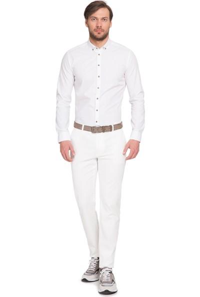 Cacharel Wells Pantolon Beyaz