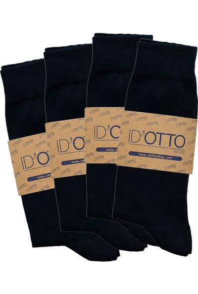 Id'Otto Erkek Çorap (Bambu) - Lacivert- 4'Lü Paket