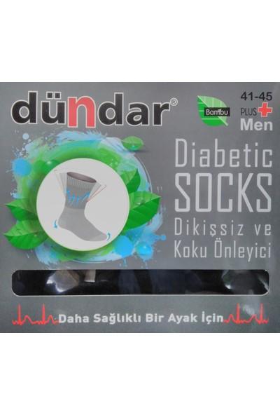 Dündar 3'Lü Diyabetik Çorabı