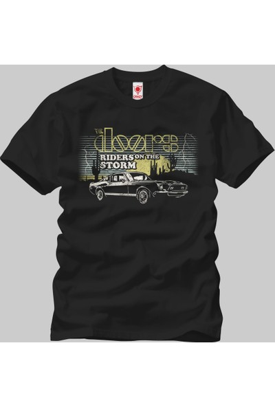 Crazy The Doors Riders On The Storm Erkek T-Shirt