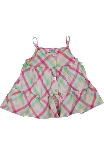 Kanz Kız Çocuk 151-2208 Askılı Elbise