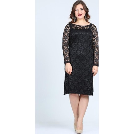 eb760917926da Angelino Butik Kl15154 Siyah Abiye Elbise Fiyatı